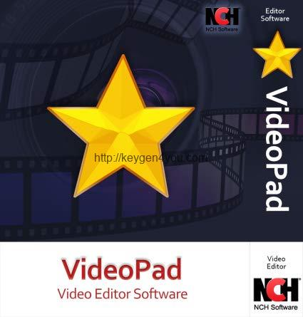 VideoPad Video Editor Crack 7.39 + Keygen Free Download