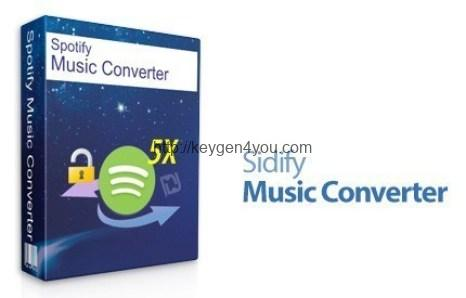Download Sidify Music Converter Crack 1.4.1 Full Version