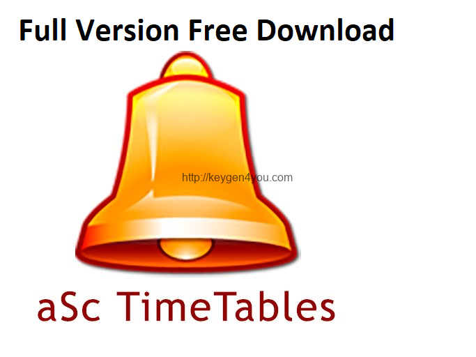 Download aSc Timetables 11.4 Crack + license key [Keygen] latest 2021