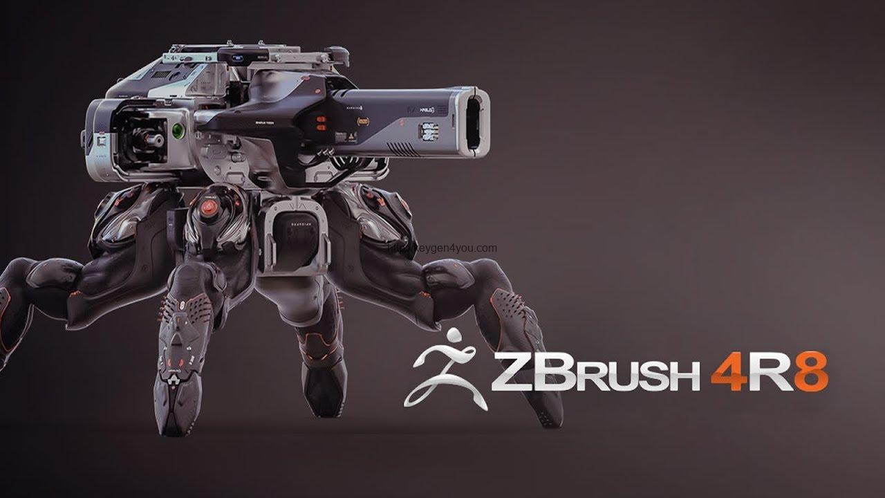 ZBrush 4R8 Crack PC Free Download
