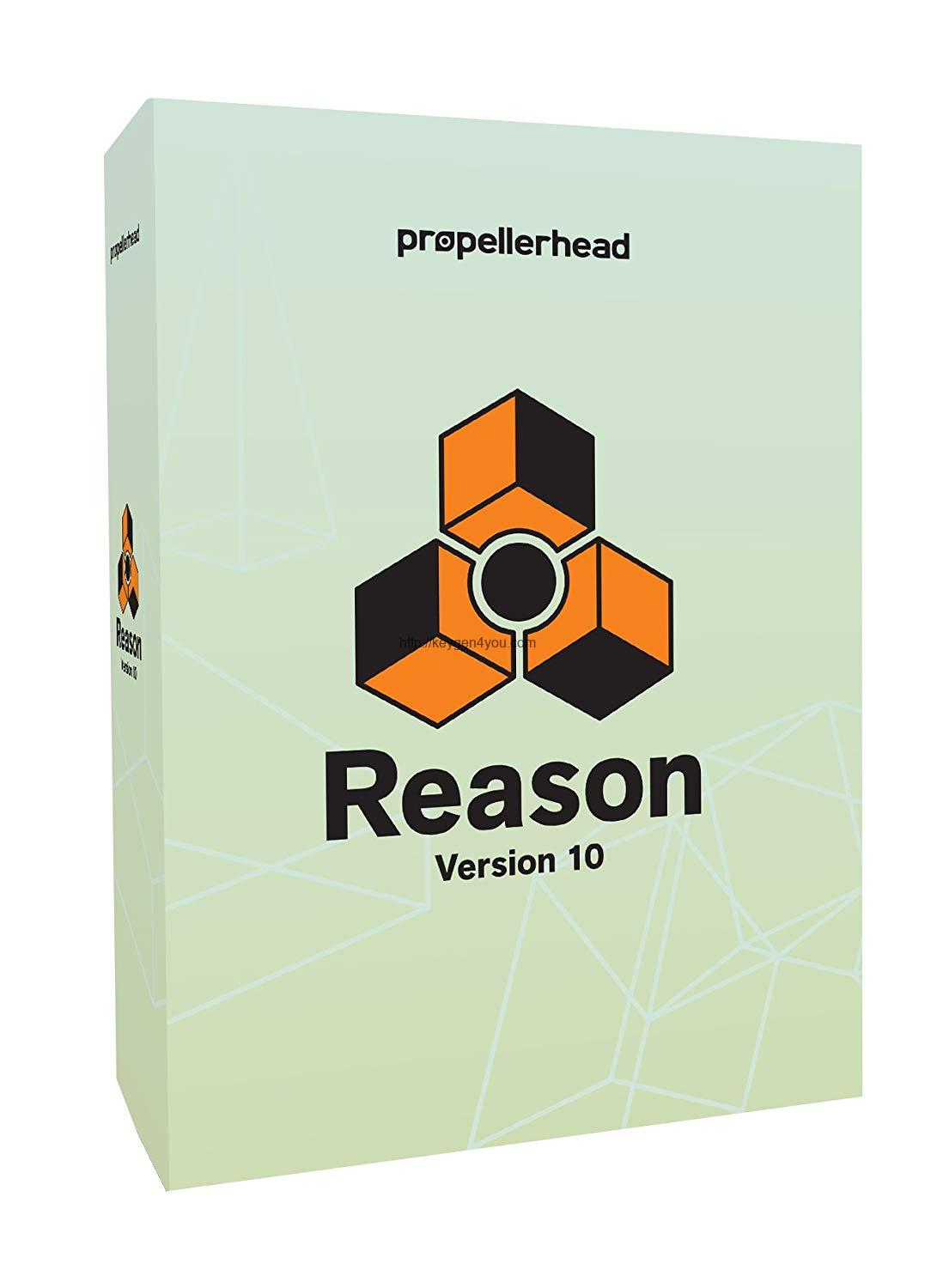 Reason 10 Crack PC Download Free for Windows and MAC